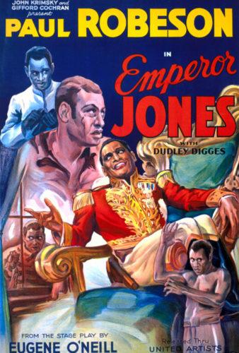 The Emperor Jones, 1933, film poster