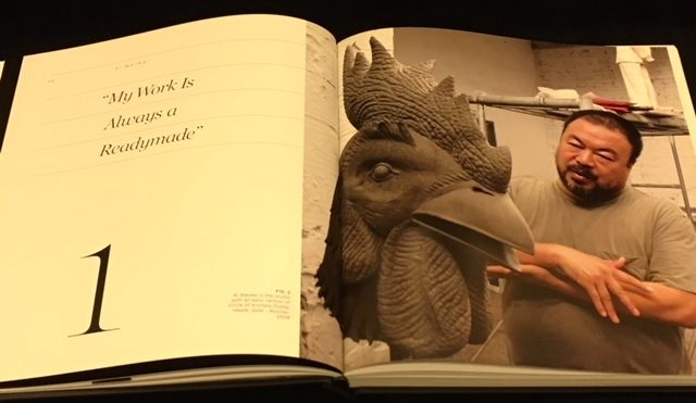 Ai Weiwei: Circle of Animals, page spread with Ai Weiwei