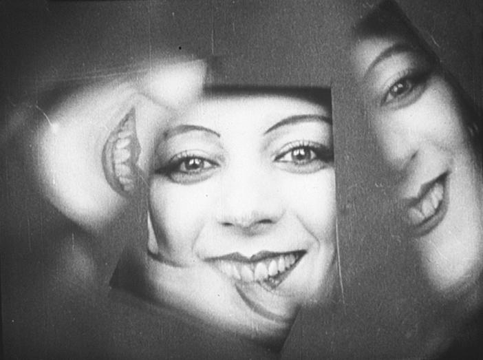 Man Ray's companion, Kiki of Montparnasse, in Ballet mécanique (1924)